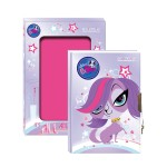 Dnevnik sa ključićem Littlest Pet Shop 170x125 mm StarPak