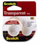 Lepljiva traka Scotch Transparent 550 na stalku, 12,7mm x 11,4m