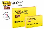Post-it Super Sticky 203 x 152 mm, 4 boje x 45L  6845-SS EU 3M