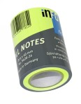 Info roll refil 60 mm x 8 m, brilliant colours Info Notes zelena