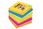 Post-it Super Sticky 76 x 76 mm, RIO, 90L, 6-pack 3M